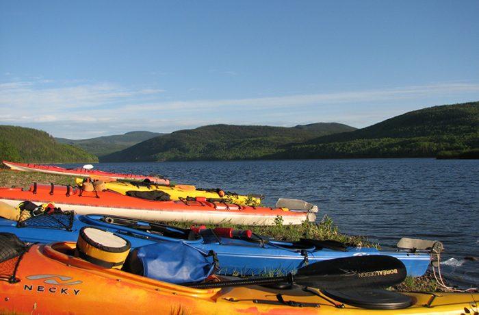 Kayak camp accueil